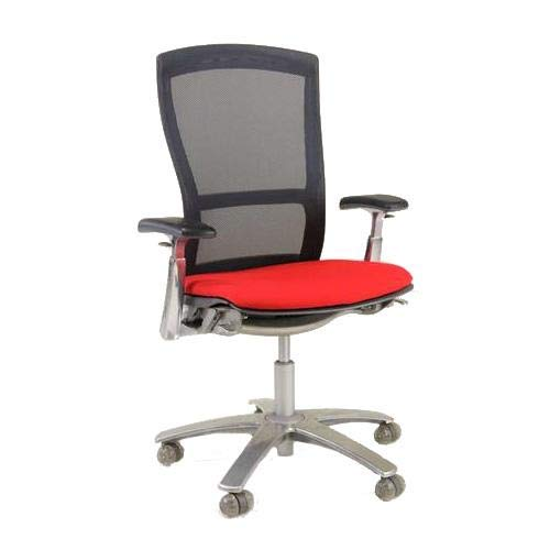 Knoll Life Used Chair New Red Seats