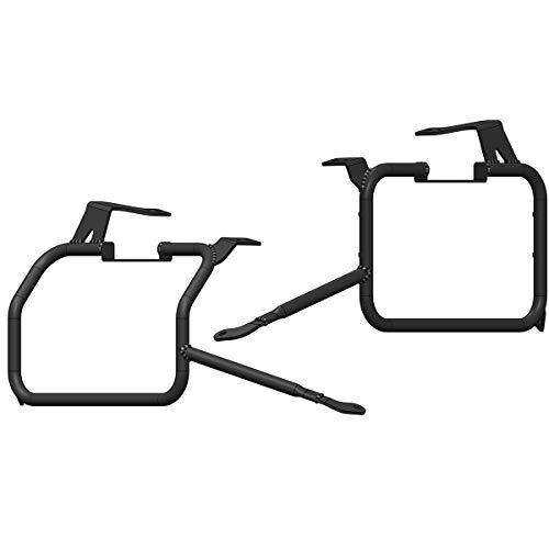 MyTech - Kit de soportes de fijación para maletas modelo X recto y descargado para - CRF 1000 L Africa Twin Adventure Sports (2020) - CRF 1000 L Africa Twin (2020)
