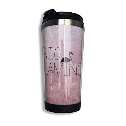 YUSHAN Bio Coffee - Taza de viaje para coche, té helado o botella de agua, acero inoxidable