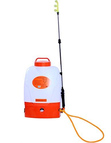 FUXTEC Pulvérisateur Pression à Dos électrique FX-AD18 - Sac à Dos Batterie 18 L autonomie 2h pour la fertilisation, la Lutte Contre Les parasites - Poids Faible, sans émission et Silencieux