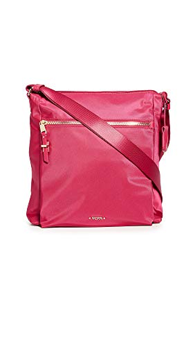 TUMI - Voyageur Canton Crossbody Bag - Over Shoulder Satchel for Women Pink Size: One size