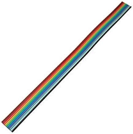 grille 1,27 mm 10 broches 10,0 m C/âble plat multicolore de la marque MANAX/®