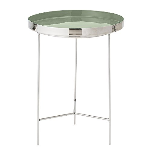 Table basse plateau, Bloomingville, Vert, Aluminium