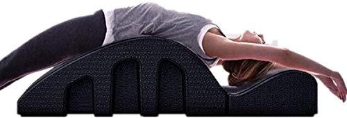 YF-SURINA Equipo deportivo Masaje Órtesis espinal de cama, Yoga Corrector de columna cervical, Equipo de ejercicios Corrector de vértebra cervical Arco de Pilates