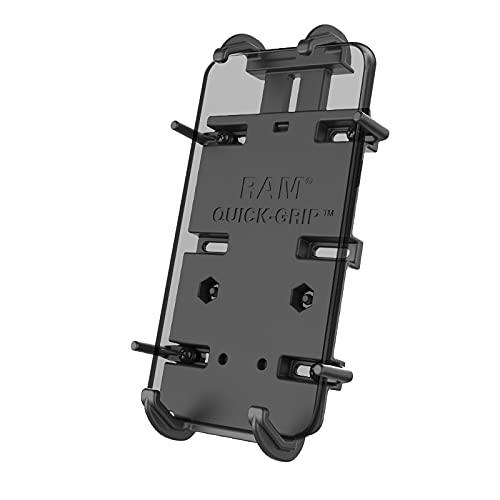 Ram Mounts UNPKG RAM Quick Grip Phone Holder for Larger Devices W/, W126108929 (Holder for Larger Devices W/Diamond Base)