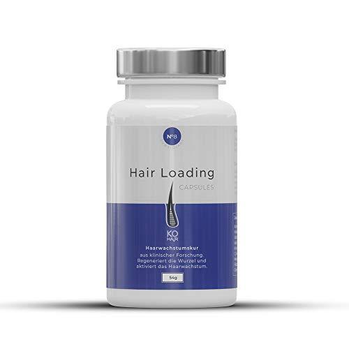 DHT-Blocker gegen Haarausfall Kapseln 60 Stück, hoch-bioverfügbares Mittel gegen Haarverlust, Sulforphan, Sägelpalme und weitere Inhaltsstoffe von KÖ-HAIR
