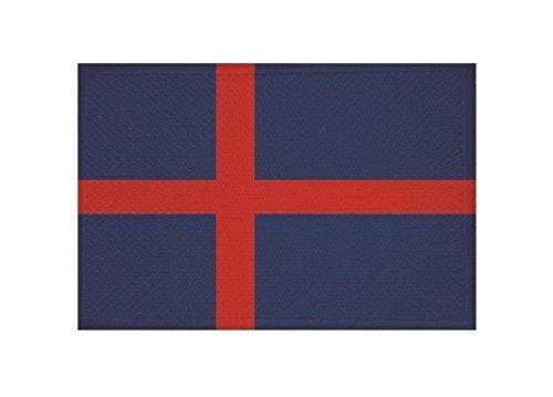 U24 Aufnäher Herzogtum Oldenburg Fahne Flagge Aufbügler Patch 9 x 6 cm