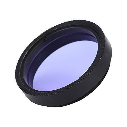 Daurhaft - Filtro óptico de filtro de ojos de 1,25 pulgadas para el ocular de telescopio reduce la contaminación luminosa para una observación más clara de la luna.