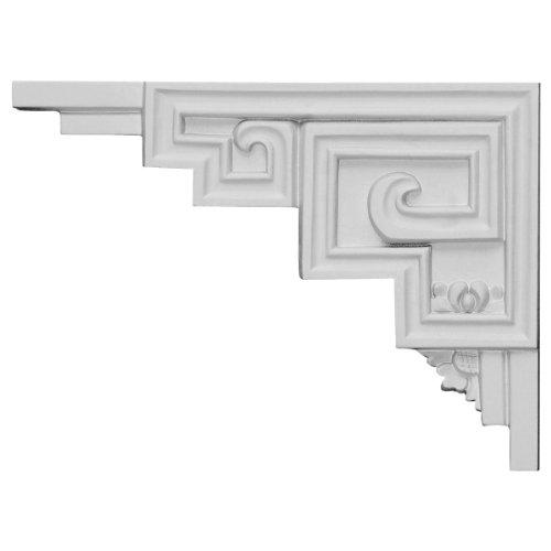 Ekena Millwork SB09X06ER-L Austin Stair Bracket, Left, 9'W x 6 1/2'H x 1/2'D, Primed