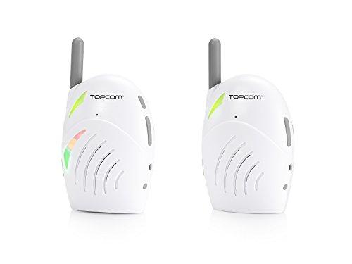Baby Monitor Audio Topcom KS-4216 – Eccellente qualità del suono – Portata fino a 300 m