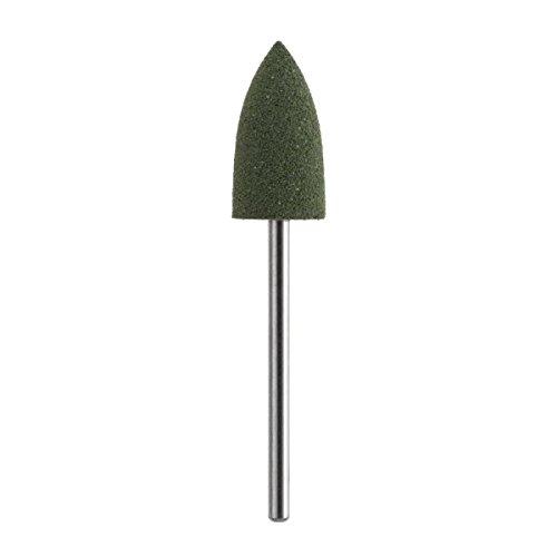 Pointe pour fraise en silicone lissant vert – Grain gros – Ø 11 mm