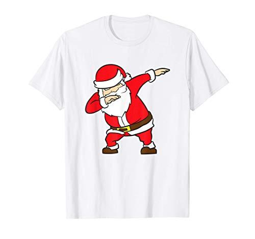 Santa Claus de Navidad rozando a Santa Claus Camiseta