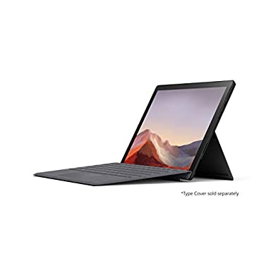 Microsoft Surface Pro 7 - 12.3 Touch-Screen Intel Core i7 16GB Memory 256GB Solid State Drive (2019 Model) Matte Black