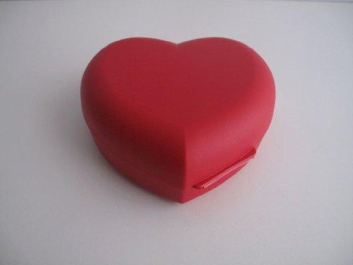 TUPPERWARE Vesperbox Herz rot Dose Vesperbox Behälter Box