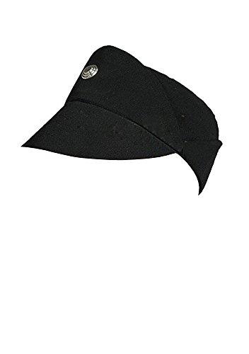 Star Wars Imperial Officer schwarze Uniform Cosplay Muetze Kappe Hut