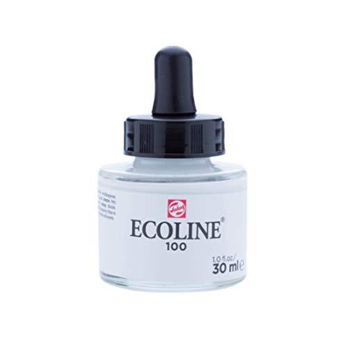 Liquid Watercolour, 30ml Jar by Ecoline (White)