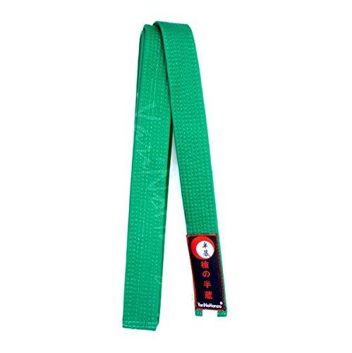 YariNoHanzo Cinturón Verde para Karate y Judo | Todas Las Medidas