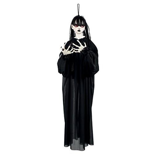 Boland- Decorazione Horror Girl, Nero, 85 cm, 72115