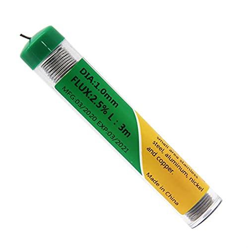 caihv-Schweißdraht, Schweißen Edelstahlschweißen Aluminium Nickel-Produkte Multifunktionales Lötdraht, spezielles Lötdraht, stark und langlebig (Diameter : 1.0mm)