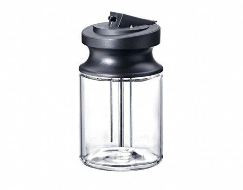Miele Original Zubehör MB-CVA 6000 Milchbehälter aus Glas / 0,7 l Füllvolumen / für Einbau Kaffeevollautomaten CVA 6xxx