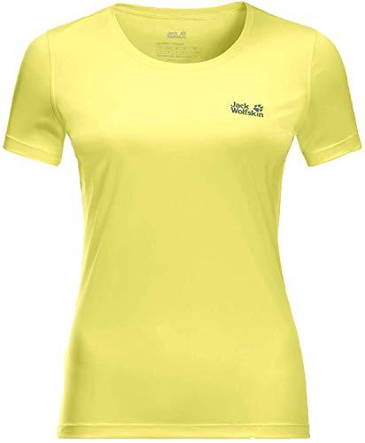Jack Wolfskin Tech T-Shirt Femme T-Shirt Femme Sorbet FR : XL (Taille Fabricant : XL)