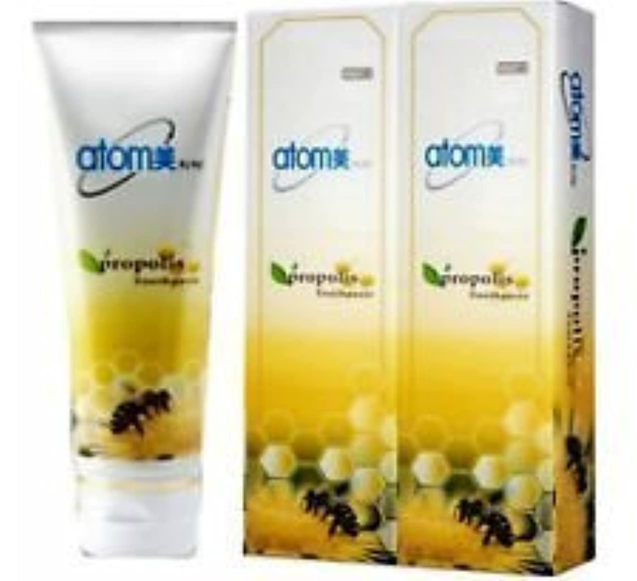 伝染性のジレンマタイピストKorea Atomy Atomy Propolis Toothpaste Oral Care System 2EA* 200g [並行輸入品]