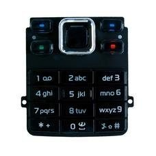 Keypad toetsenbord voor Nokia 6300 zwart