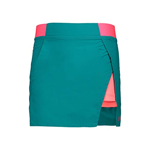 CMP Mädchen Skirt with Shorts Inside Dry Function Sportrock, Lake, 110
