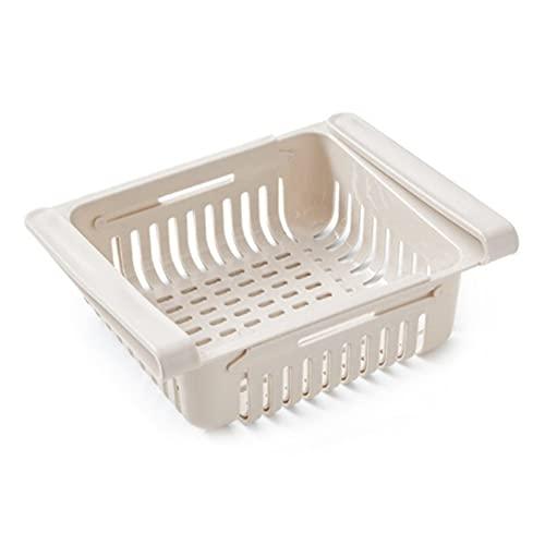 Cajones de nevera con capa de partición para nevera, estante para nevera, soporte para nevera, caja de almacenamiento organizador para el hogar