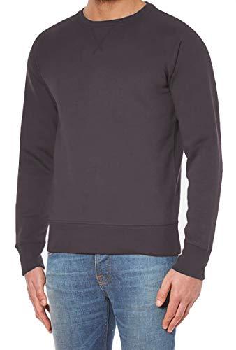 Hann Brooks Mens Cotton Icon Crew Neck Long Sleeve Sweater Sweatshirt Top