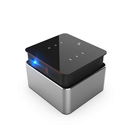 Inteligente táctil inalámbrica en la pantalla del proyector, portátil Mini proyector HD, la resolución es 1208X1080, soporta 4K, 150 lúmenes, compatible con 3D, conveniente for el hogar, oficina ZHNGH