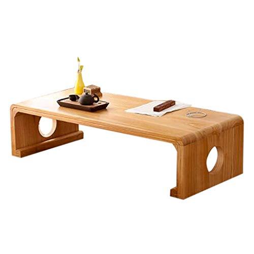 Liuwubing Massivholz Couchtisch Zhuo Zen Antike Tatami Bucht Fenster Tisch Japanischen Balkon Kleinen Tisch Fenster Tisch Tee Kleinen Tisch (Color : 60X40X30CM)