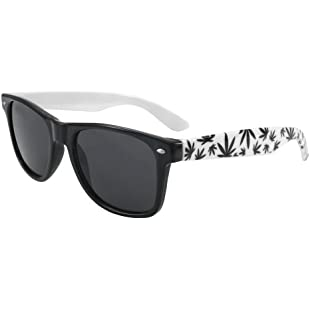 4sold New (Unisex Mens Ladies) Brilliant White Sunglasses Shades UV400 Lense (leaves sun)