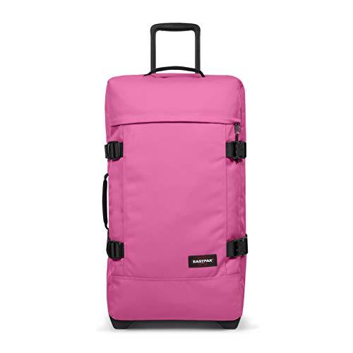 Eastpak TRANVERZ M Equipaje de Mano, 67 cm, 78 Liters, Rosa (Frisky Pink)