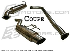 Yonaka Honda Civic 2012-2015 4DR Sedan 3 Pipe Performance Catback Exhaust Si