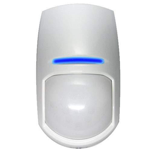 Hikvision KX15DT - Detector de sensor de alarma volumétrico de doble tecnología