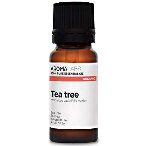 Arbol de Té BIO - 10ml - Aceite esencial 100% natural y BIO - calidad verificada por cromatografía - Aroma Labs