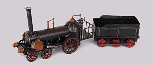 FACAI Modelo de Cabeza de Locomotora Retro Negro clásico