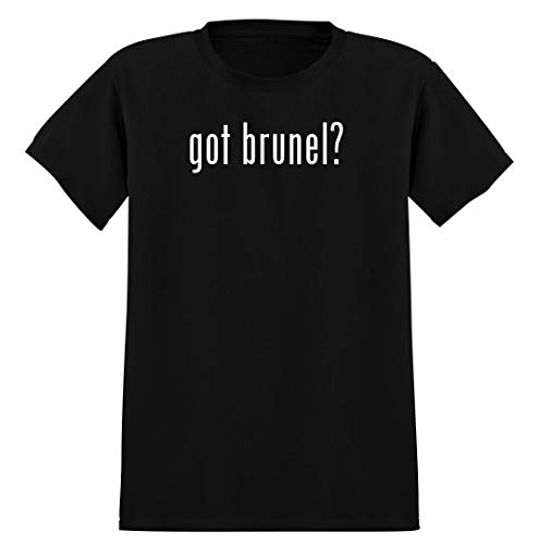 got brunel? - Men's Soft Graphic T-Shirt Tee, Black, X-Large