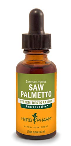 Herb Pharm Saw Palmetto Berry Liquid Extract for Prostate Support - 1 Ounce