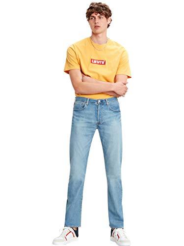 Levis® Herren Jeans 501® - Original Fit - Blau - Vero Light Stretchjeans Denim W30-W40 96% Baumwolle, Größe:W 36 L 32, Farbvariante:Vero Light (3007)