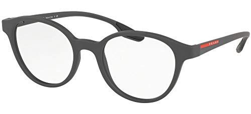 Prada LINEA ROSSA 0PS 01MV Monturas de gafas, Grey Rubber, 49 para Hombre