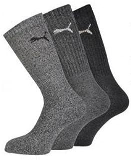 Calcetines de deporte para hombre, talla 43-46, color gris-gris
