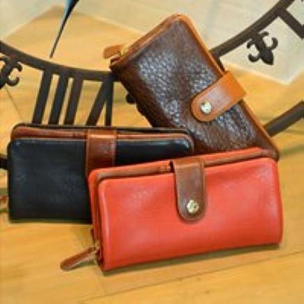 (レザージー) leather-g ヘッジホッグ イタリア革 ベラ付き 束入れ 財布 レディース 長財布 サイフ [PAOLA]
