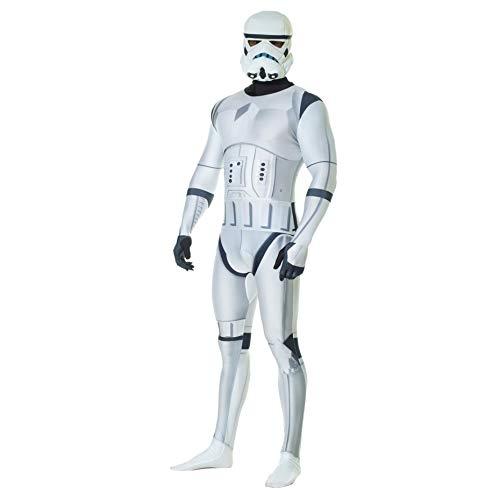 Costume Carnevale Star Wars Morphsuit Stormtrooper, Unisex, XL