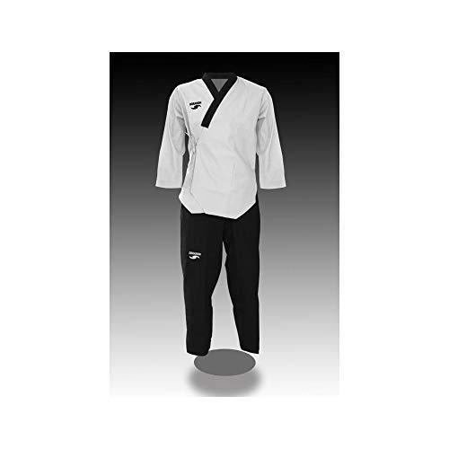 Dorawon, Dobok Poomsae Bordado Dan Men Talla 180 cm, Cuello Y Navy