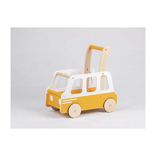 LINE Push Wooden School Bus, Toy