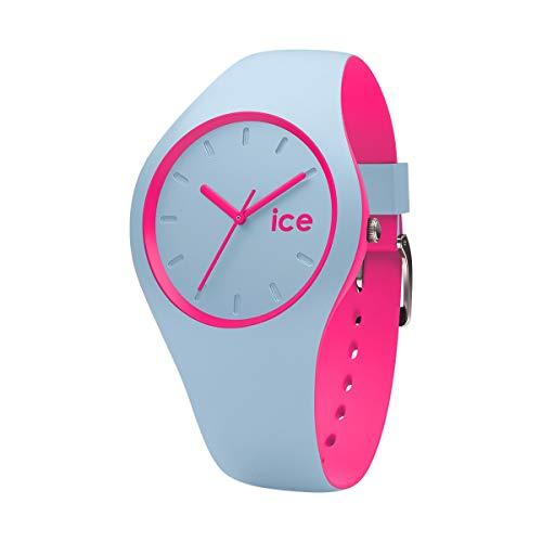 Ice-Watch - ICE duo Blue Pink - Reloj blu para Mujer con Correa de silicona - 001499 (Medium)