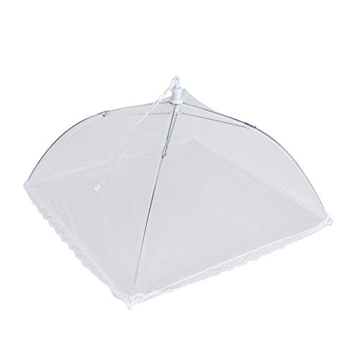 Metaltex 116230 - Cubreplatos Nylon Plegable, 35 x 35 cm