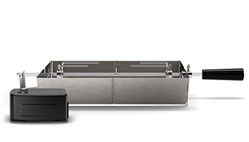 Philips Kitchen Appliances Philips HD6971/00 Smoke-Less Grill Rotisserie Attachment, Stainless Steel